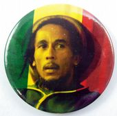 Bob Marley - 'Hat' 56mm Badge